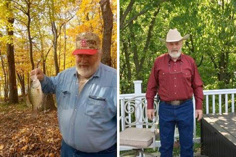 Cliff lost 135 lbs in a little over 6 months