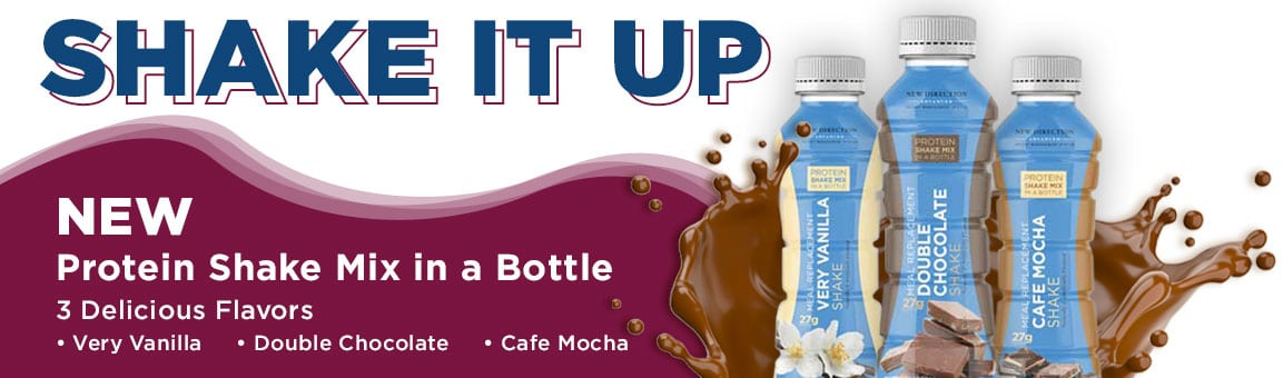 New Protein Shake Mix in a Bottle!